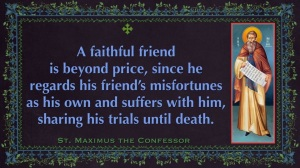 A faithful friend